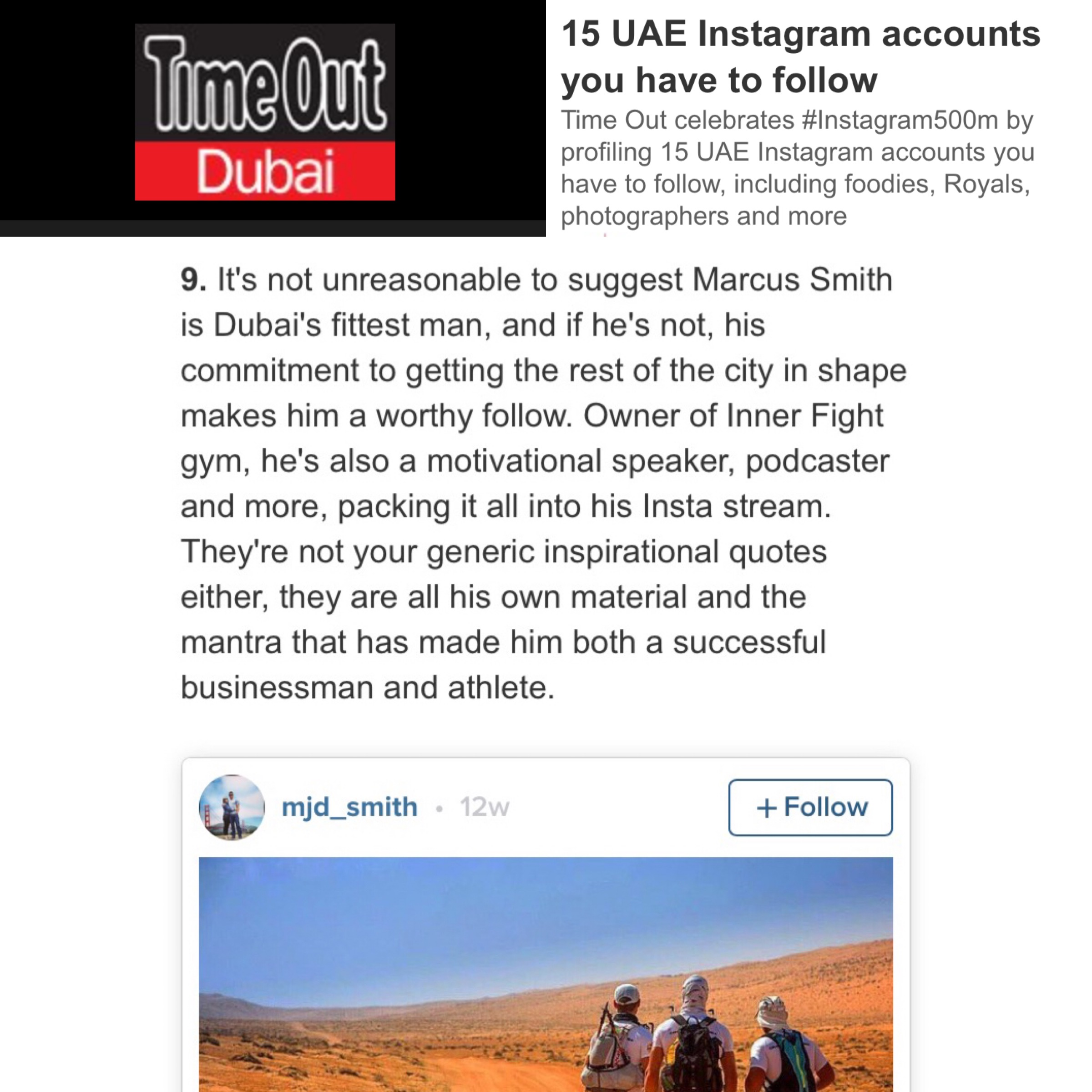 15 UAE Instagram accounts you have to follow
