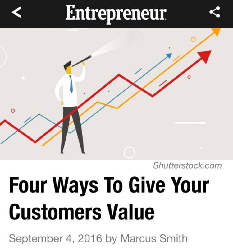 Four Ways To Give Your Customers Value