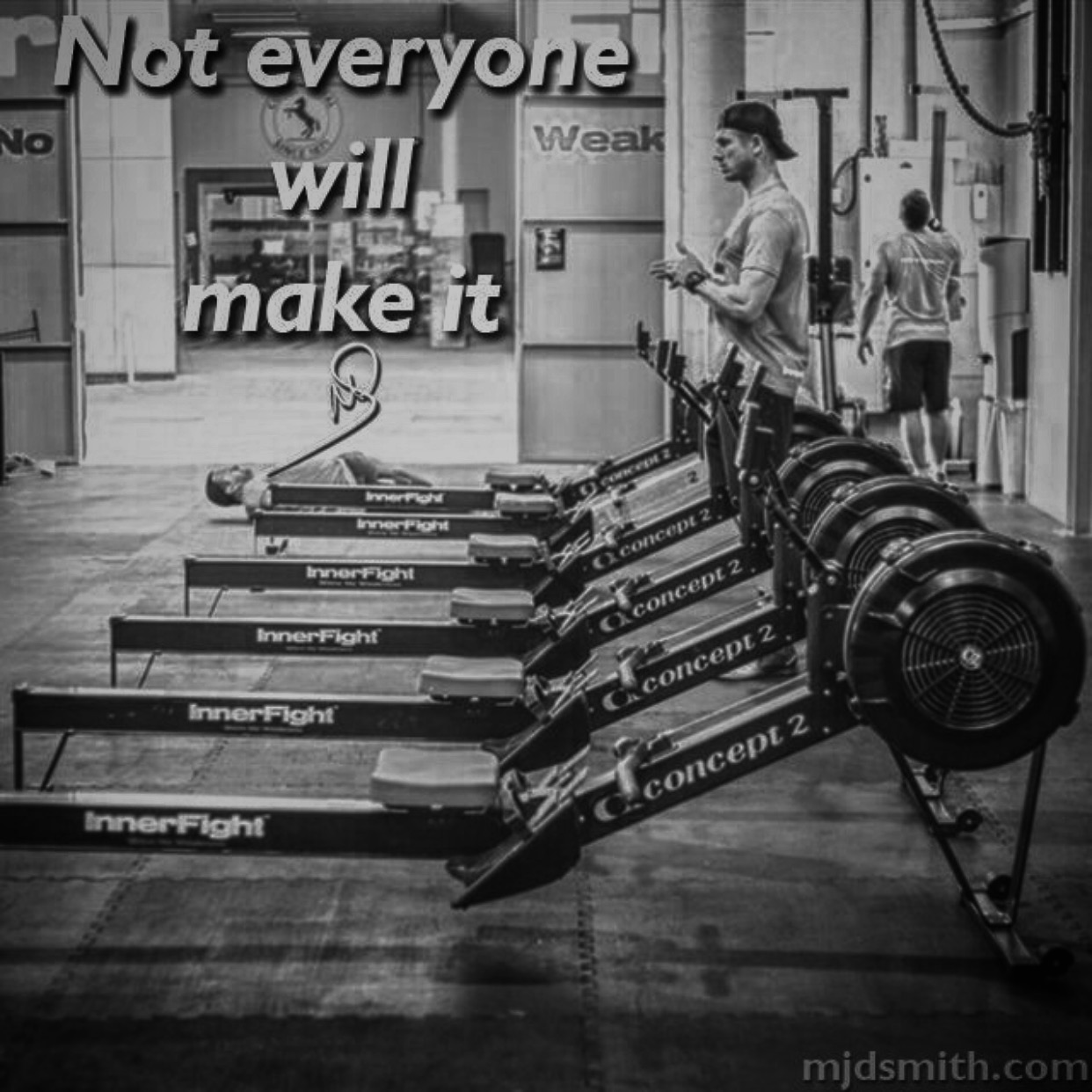 Not everyone will make it
