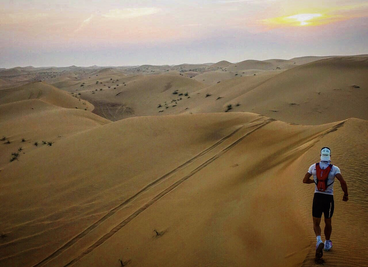 Go to the desert and have fun