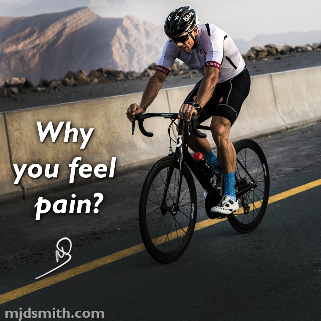 Why you feel pain?