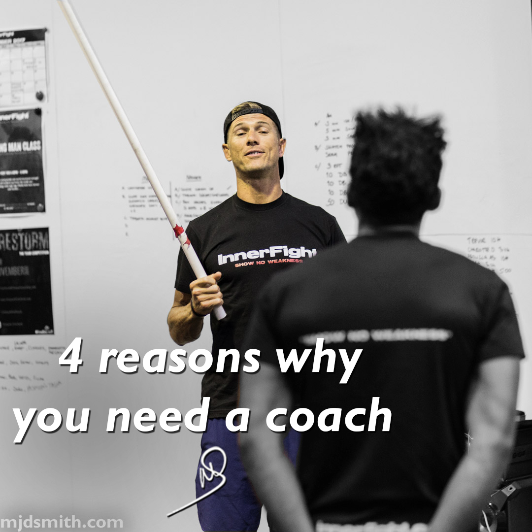 4 reasons why you need a coach