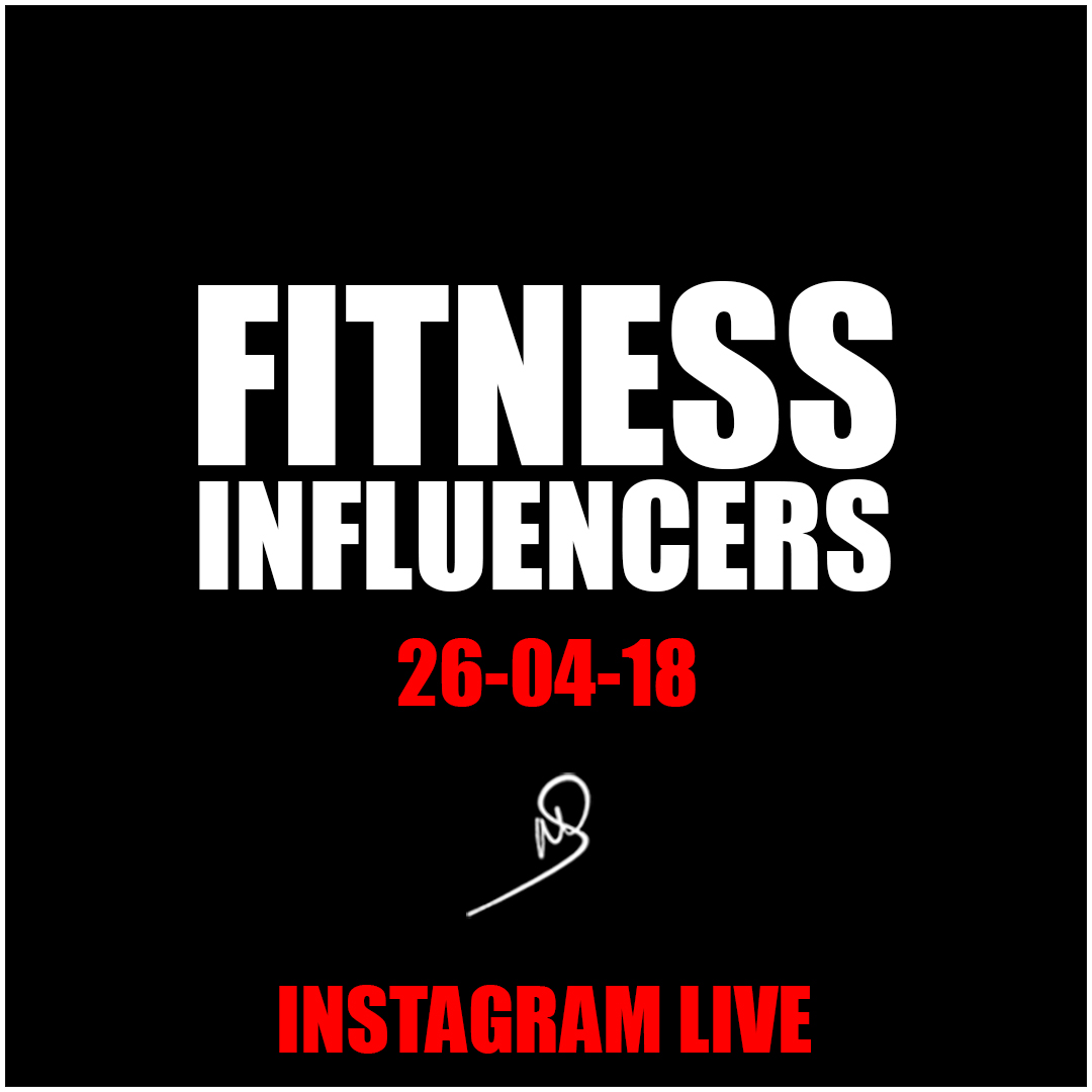 Fitness Influencers – Instagram live