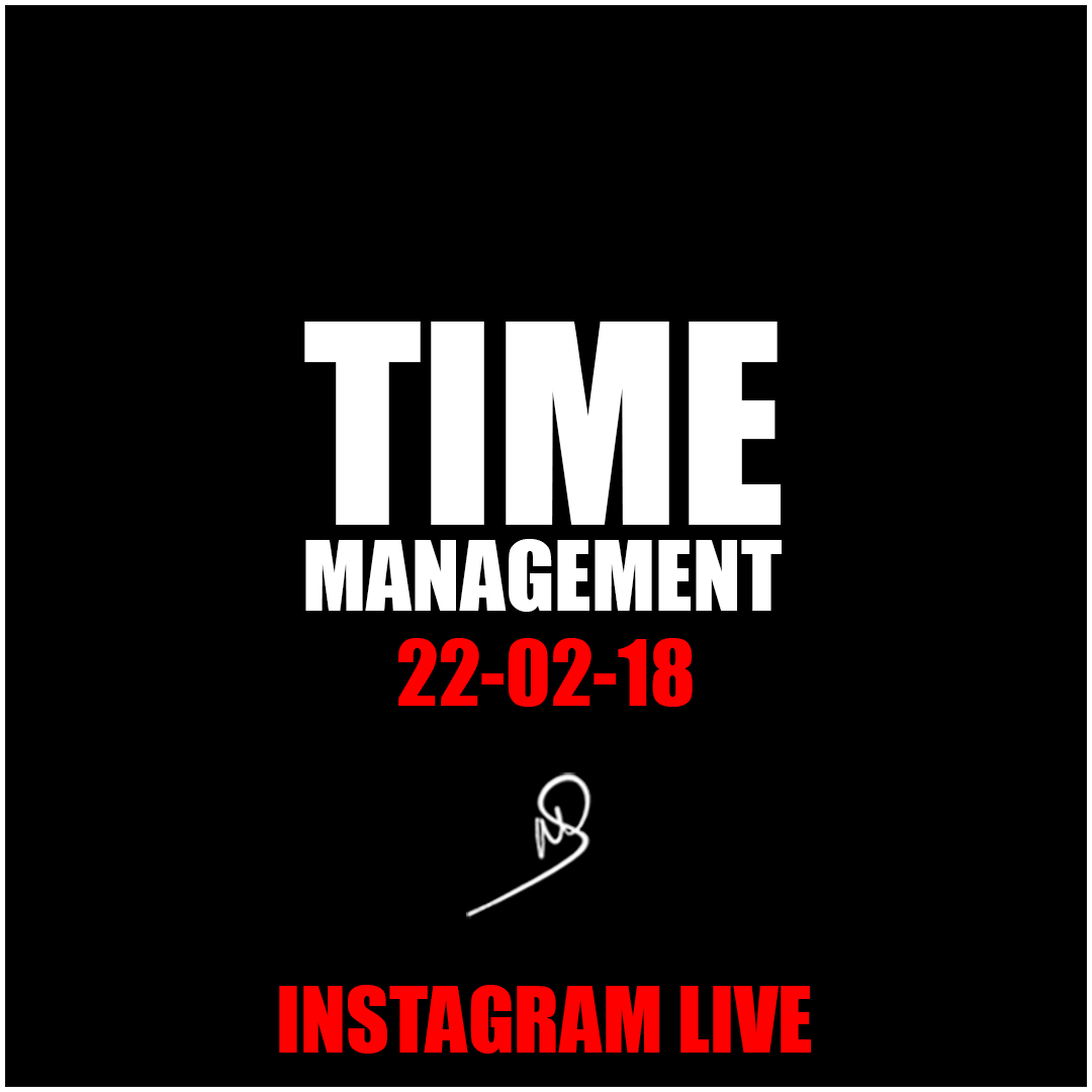 Time Management – Insta Live
