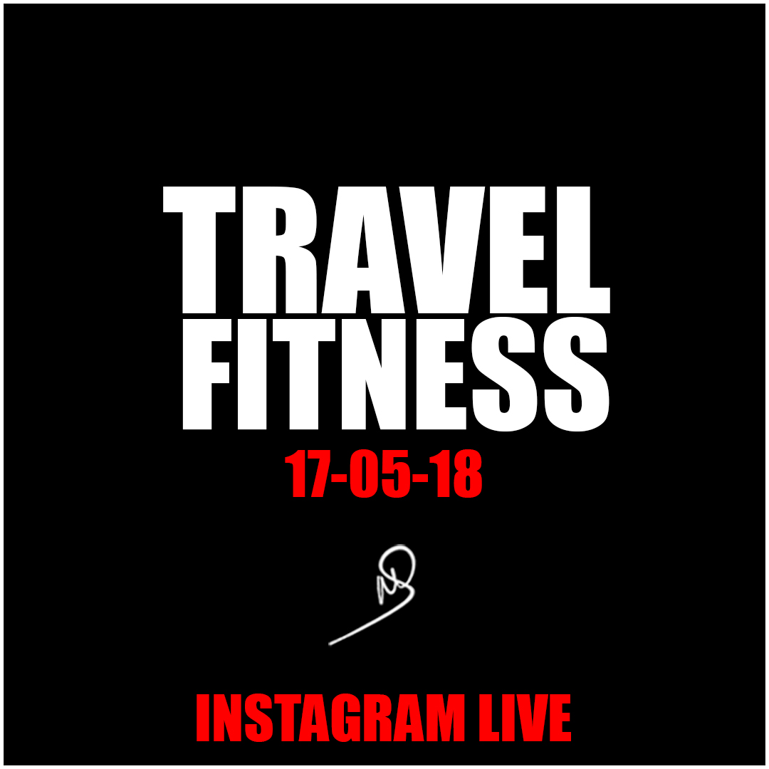 Travel Fitness – Instagram live