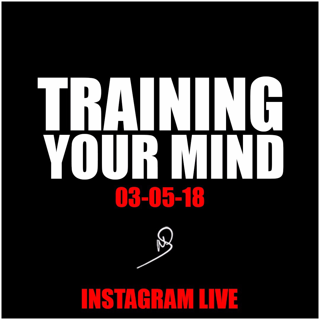Training your mind – Instagram live