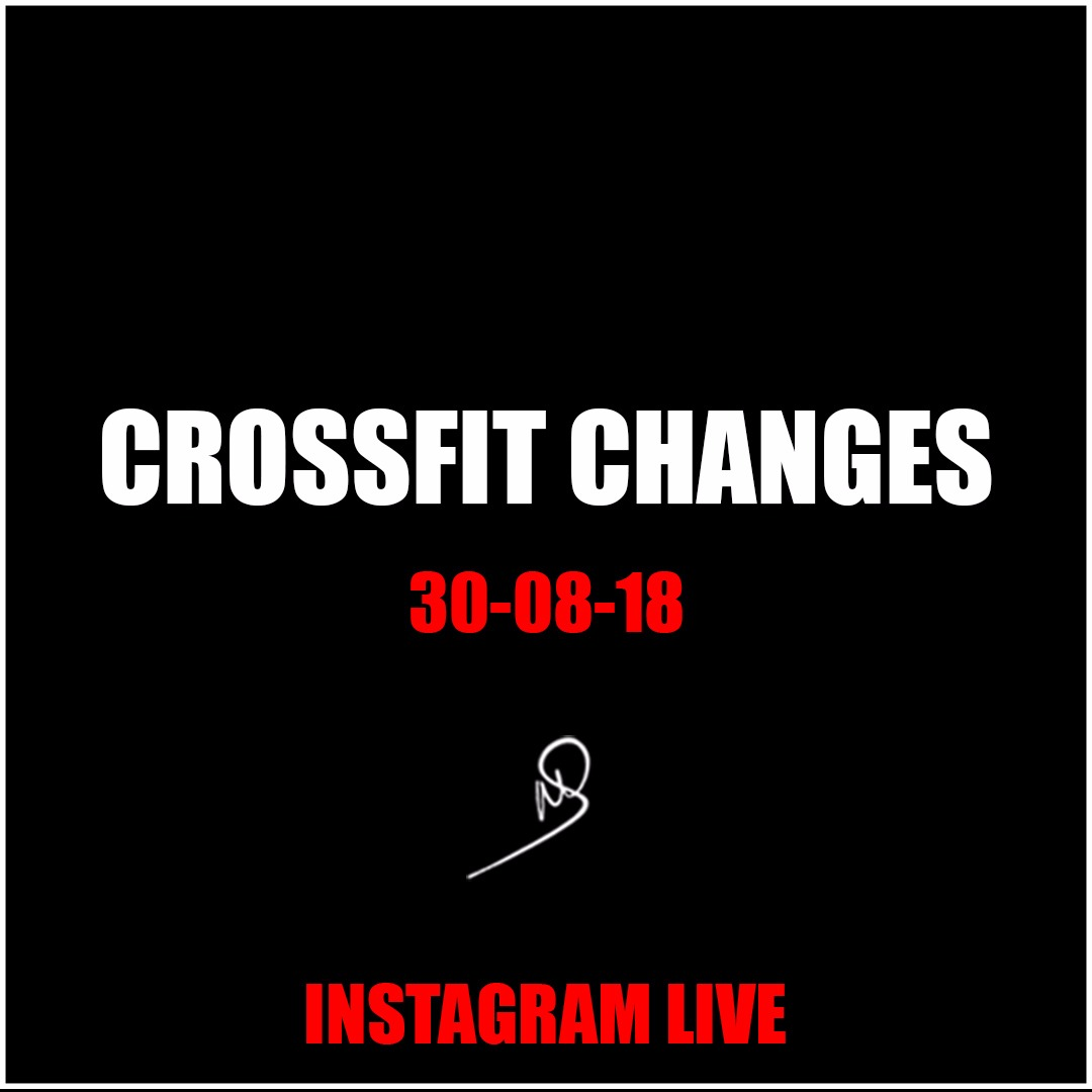 CrossFit Changes – Instagram Live