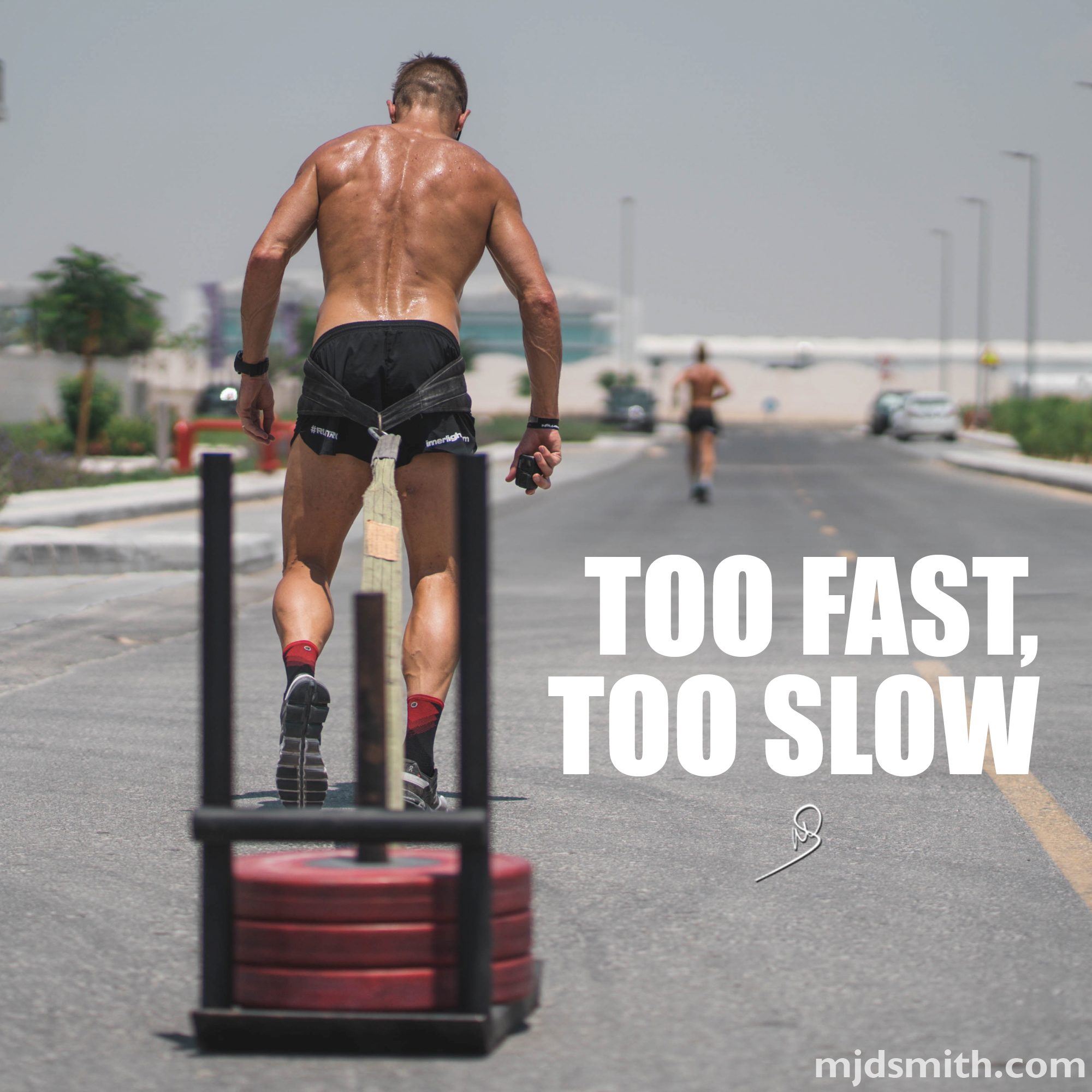 Too fast, too slow